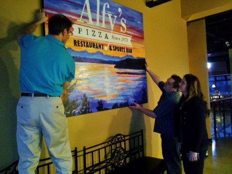 Hanging Ex Large Canvas at Alfies